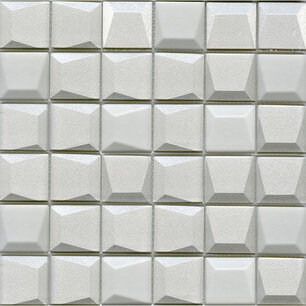 Effect Square White 30x30x0,8 cm