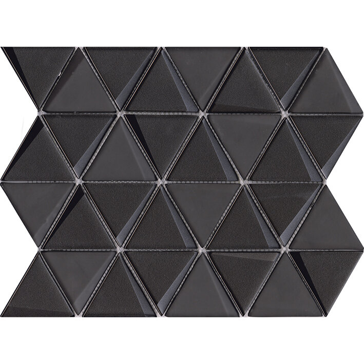 Effect Triangle Black 31x26x0,8 cm
