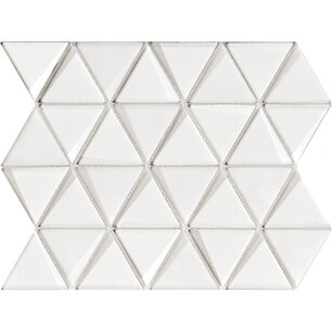 Effect Triangle White 31x26x0,8 cm
