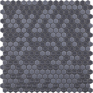 Glaze Mini Hexagon Grey 30x29,5x0,6 cm