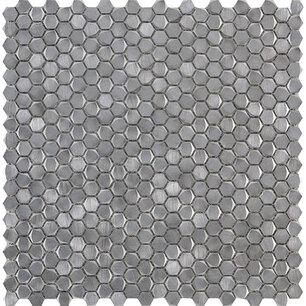 Gravity Aluminium Hexagon Metal 30,7x30,4x0,3 cm