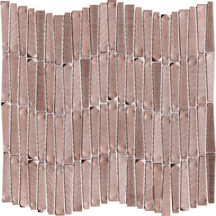 Gravity Aluminium Wave Rose Gold 30,2x28,9x0,36 cm